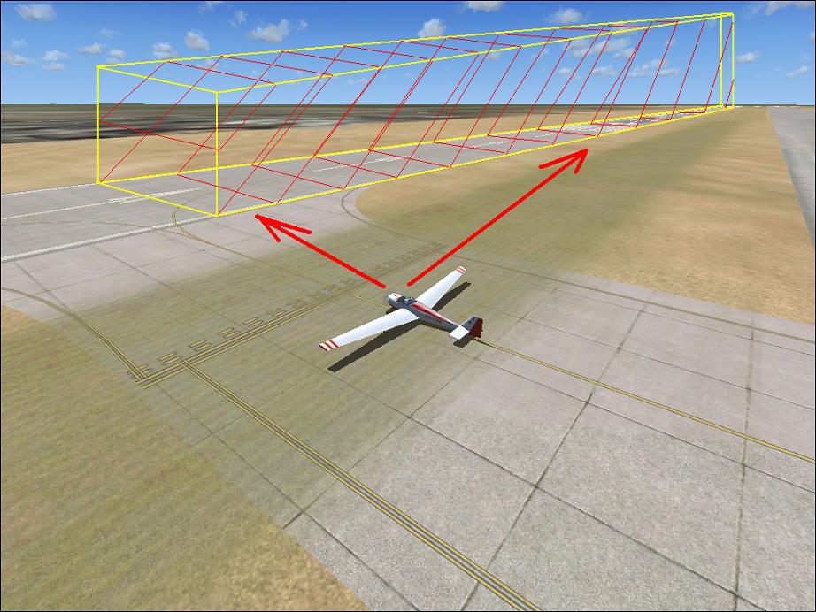 Felszálló repülőgép ellenőrzése