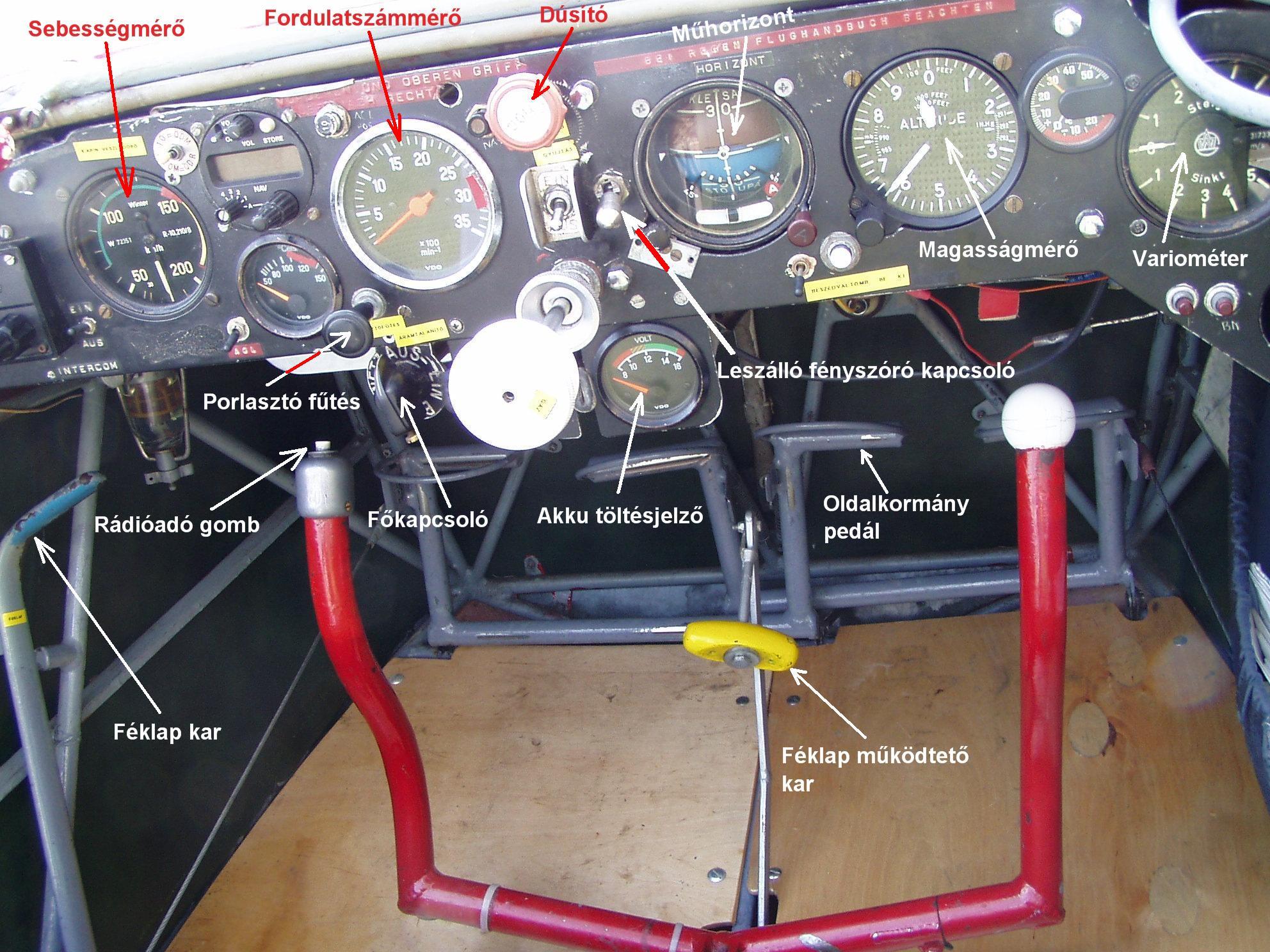 SF 25 falke kabin közép